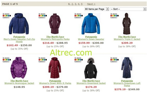 Altrec coupon code north face