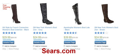 Gogoshopper blog 2012 january and currently it has a coupon for 25 off all boots when you enter promotion code boots25 on checkout page after applying the coupon fandeluxe Images