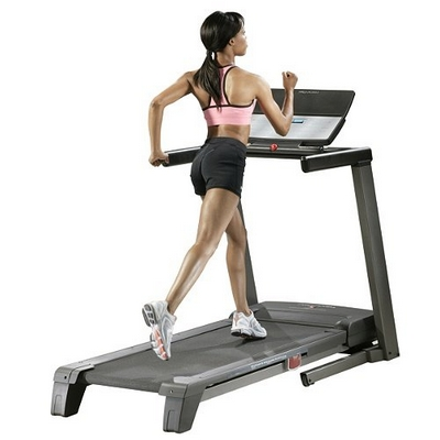 on dancing asian treadmill