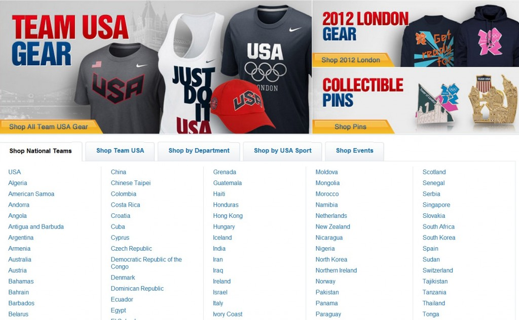 After You Enter CBSSports Click On Shop At The Top Right Corner Then Olympics Again Not Only Will Find Team USA