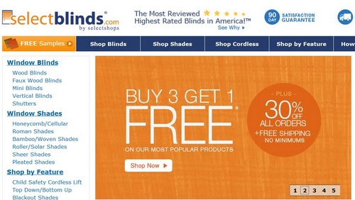 select blinds discount code GoGoShopper.Blog » Save up to 90% off on Window Blinds and Shades select blinds discount code